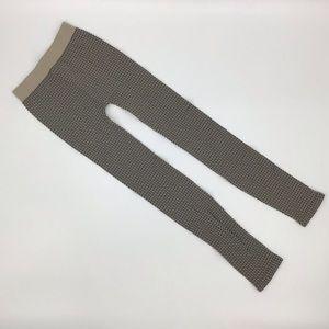 Nikibiki 3-Tone Weave Leggings in Stone, OS, BNWT
